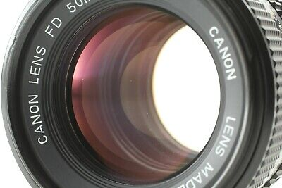 [ MINT+++ ] Canon New FD 50mm f/1.4 NFD MF Standard Prime Lens From JAPAN