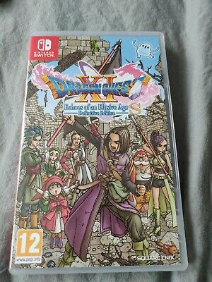 Dragon Quest XI Echoes Of An Elusive Age Definitive Edition (Nintendo Switch)