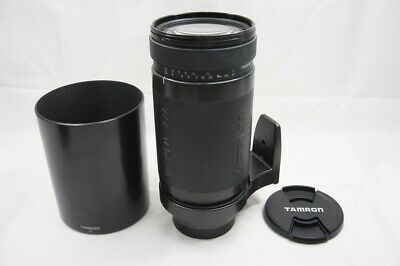 TAMRON AF 200-400mm F5.6 LD IF 75D Lens for Sony Minolta Alpha w/ Hood #200124c