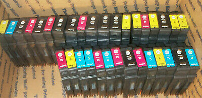 60 Virgin Empty Genuine Brother LC105 LC107 Ink Cartridges 15 ea KCMY