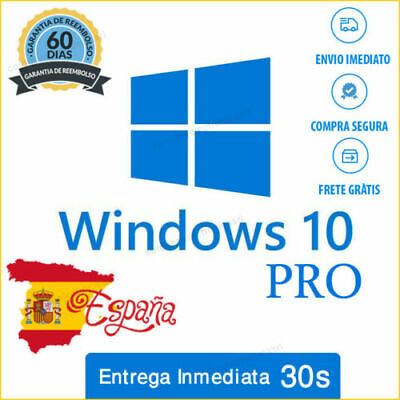 Microsoft Windows 10 Pro 32/64 Bits Multilenguaje Licencia Key Original