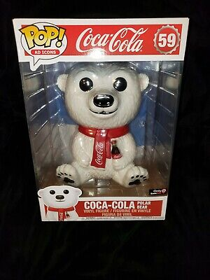 Coca-Cola Polar Bear (10-Inch) - Pop! Ad Icons #59 Funko Shop Exclusive
