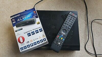 amiko alien 2+ plus sat satellite box triple tuner 2x sat + t2