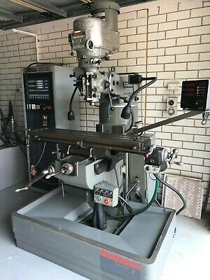 "Bridgeport Model Br2J2 42"" Turret Milling Machine"