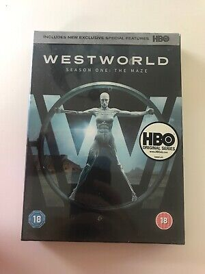 WESTWORLD COMPLETE SERIES 1 DVD First 1st Season One Brand NEW