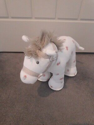 The Little White Company white horse comforter / soft toy excellent condition