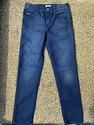 Jasper Conran Childrens Straight Blue Denim Jeans -boys/girls - Age 10