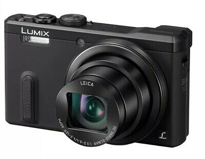 Digitalkamera Panasonic LUMIX DMC-TZ61 EG-K, Leica, 18.1 MP, 30x Zoom - Schwarz