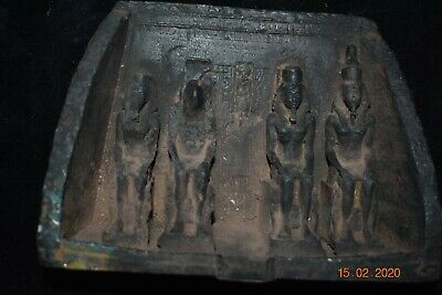 "Sale!! Egyptian Bronze Figures 8"" Prov"