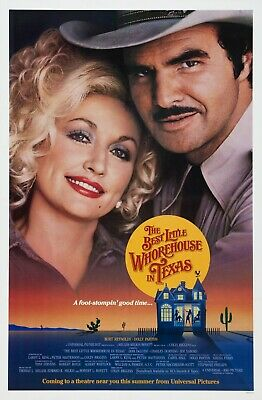 The Best Little Whorehouse In Texas (1982)  Original Adv. Movie Poster - Rolled