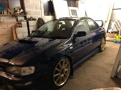 Impreza limited not Sti 555 not rs turbo