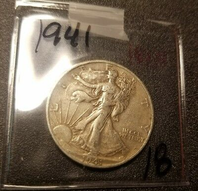 1941 Walking Liberty Half Dollar 1805