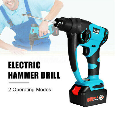 Powerful 220V 680W Electric Hammer Impact Drill Cordless Drill 3 Speed 2 Modes
