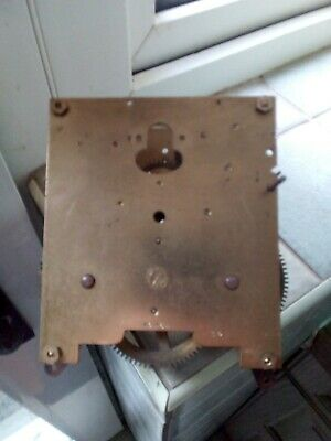 Vintage  8 Day Chime Clock Movement ( Spares Or Repair)