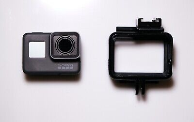 GoPro Hero 5 Black  - Camera, Battery x2,  Frame and usb microphone adapter