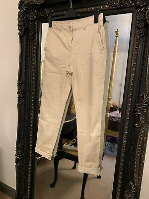 Joules Hesford Chinos Ivory Size 10