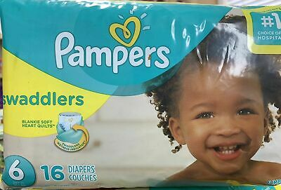 Pampers Pampers Swaddlers Diapers Size 6, 16 ct