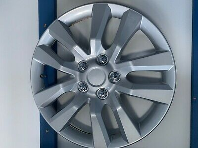 "New 16"" Silver Finish Universal Hubcaps Set of 4"
