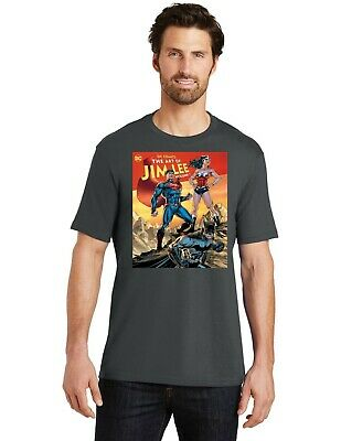 Justice League Batman Wonder Woman & Superman By Jim Lee Men Crew T-Shirt XS-4XL
