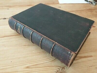 Antiquarian 1861-3 The Holy Bible: Old And New Testament, Cambridge ,C. J. Clay