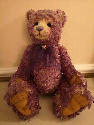 Charlie Bears Isabelle Lee collection Belle. 30 inch mohair bear.