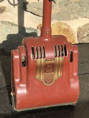 Vintage Antique Johnson's Wax Electric Floor Polisher EARLY Model H