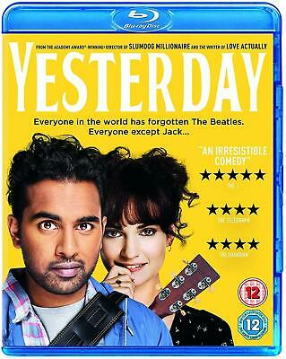Yesterday [Blu-ray] with slip cover case