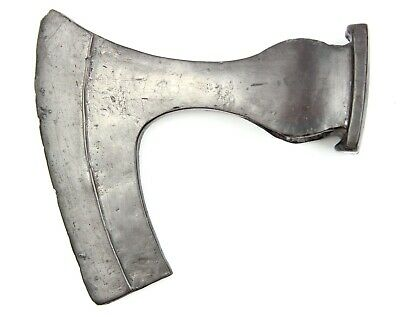 Ancient Rare Authentic Viking Kievan Rus Commander Iron Battle Axe 7-9th AD