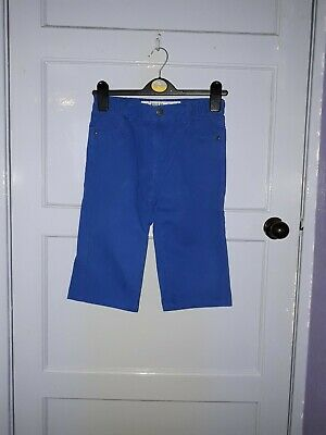 Boys Denim Co Shorts Adjustable  Elasticated Waist Blue Colour Age 9-10 Yrs