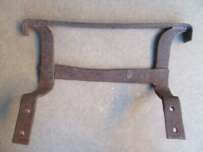 Antique Wrought Iron Boot Scraper  Hand Forged Vintage