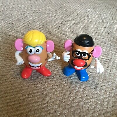 Mr and Mrs Potato Heads, Toy Story, Disney Characters, Colourful, Fun, gc