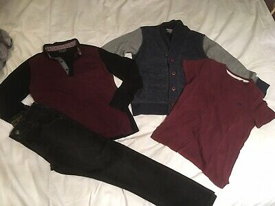 Boys Next Clothing Bundle Aged 7 Jeans and Tops