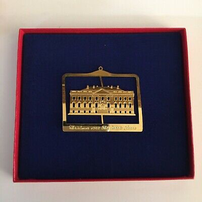 White House Historical Association 1983 Christmas Ornament - White House