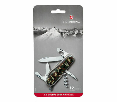 🌟🌟🌟 1.3603.94B1 Victorinox Swiss Army Pocket Knife Spartan Camouflage 91Mm