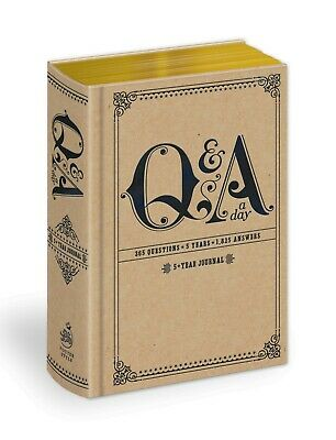 Q&A a Day: 5-Year Journal by Potter Style (Diary, Journal, Blank Book) NEW