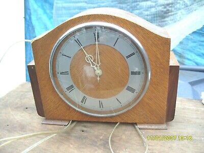 clock parts SMITHS mantle clock spares to repair untested electric