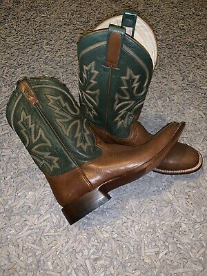 beautiful hand made men's UK size 12 Rod Patrick Cowboy Boots worn only once