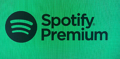 Spotify Premium 6 Months Subscription Code - New UK Accounts Only (£59.94 value)