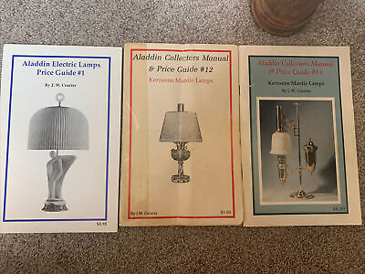 Aladdin Collectors Manual and Price Guide #14 Kerosene Mantle Lamps JW Courter
