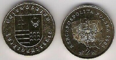 Poland 2 Zlotych Zl Legnica Polish Cities 2006 UNC