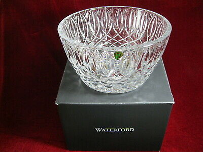 """Gorgeous Waterford Grant 10"""" Clear Crystal Bowl Signed NIB"""