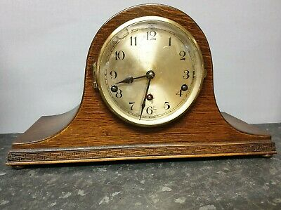 Vintage Napoleon Hat 8 Day Westminster/Whittinton Chiming Mantle Clock