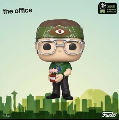 Funko Pop! 2020 ECCC OFFICIAL CON STICKER The Office Dwight Schrute Recyclops