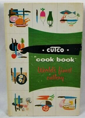 Cutco Cook Book Meat & Poultry Illustrated Retro Mid Century Americana Vtg 1961