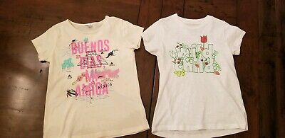 Youth Girl's Crewcuts By Jcrew T-shirts. Size 10