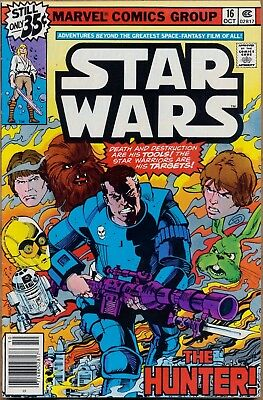 Star Wars #16 Marvel Comics Bronze Age High Grade 7.5 VF- 1st Print