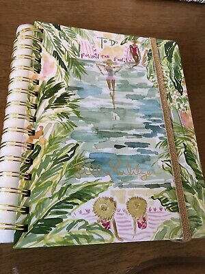 Lilly Pulitzer Follow the Sun Toile To Do Day Planner Undated