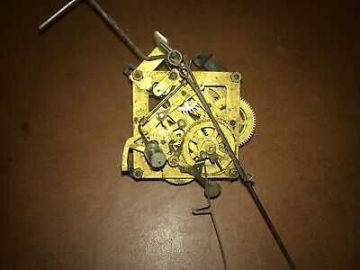 Antique Brass Cuckoo Clock Movement for Repair or Parts