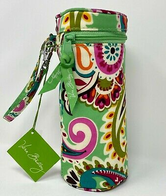 Vera Bradley Retired Print TUTTI FRUTTI Baby BOTTLE Caddy WARMER Insulated Zips!