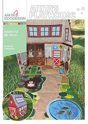 Anita Goodesign Embroidery Machine Designs CD BARN TO BE WILD